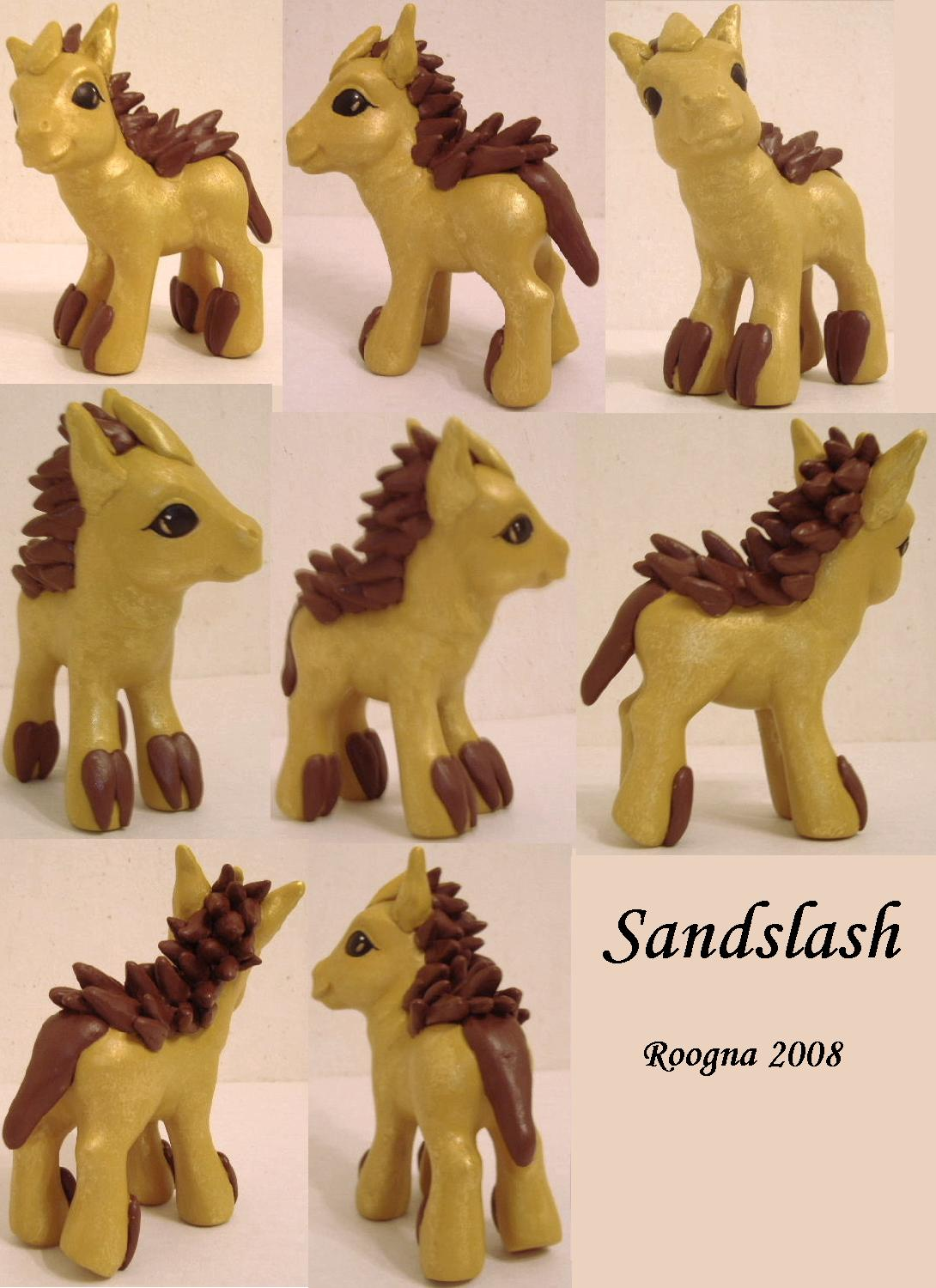 Sandslash Pony by Roogna