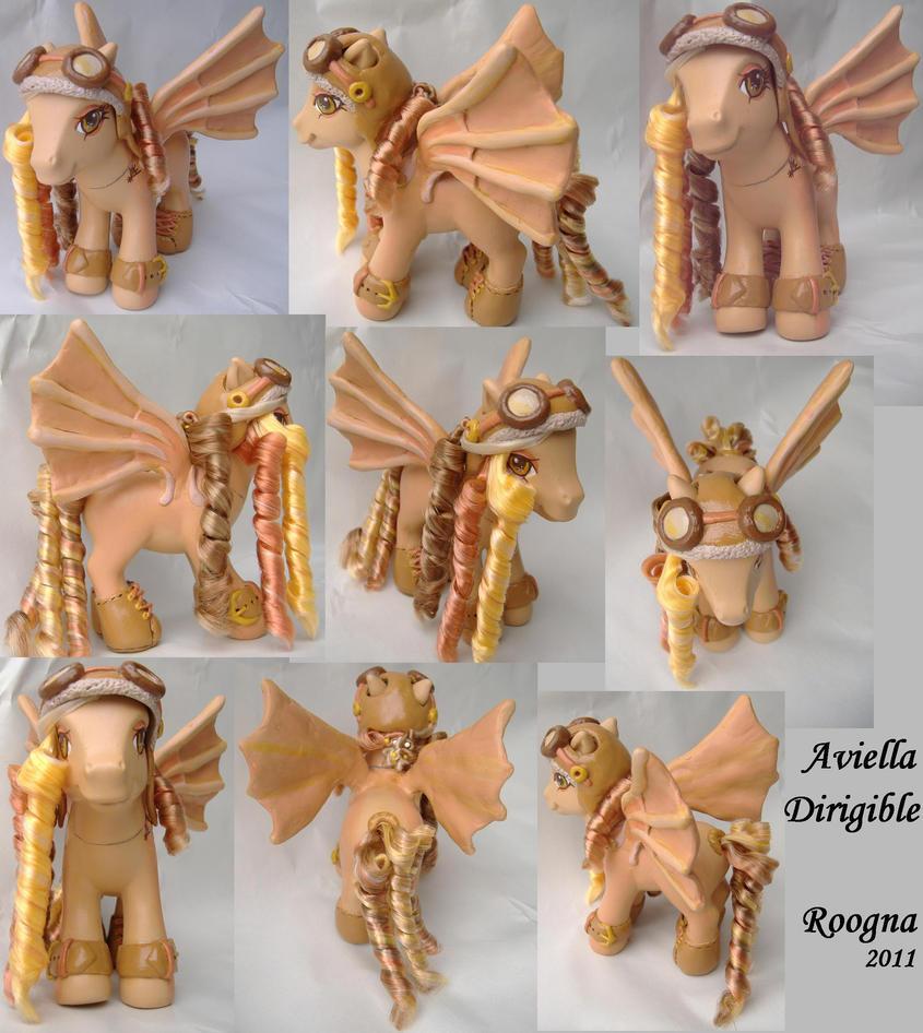 Aviella Dirigible by Roogna