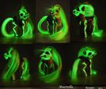 Glowing Muertella by Roogna