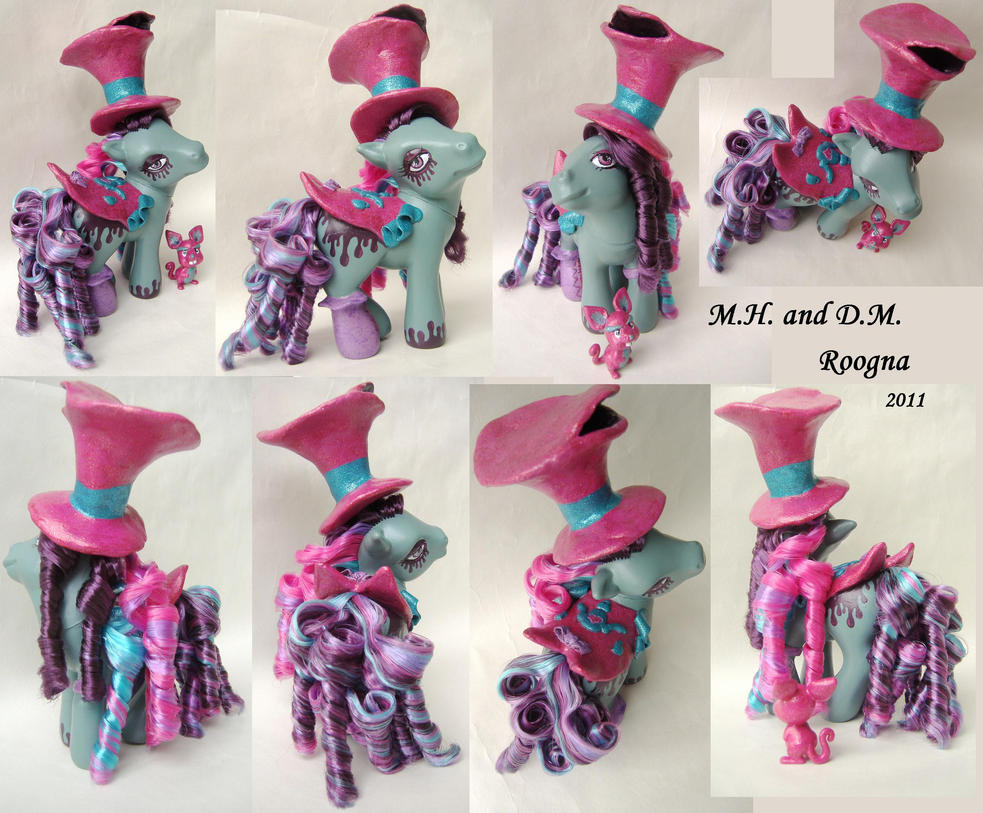 Mad Hatter Custom My Little Pony