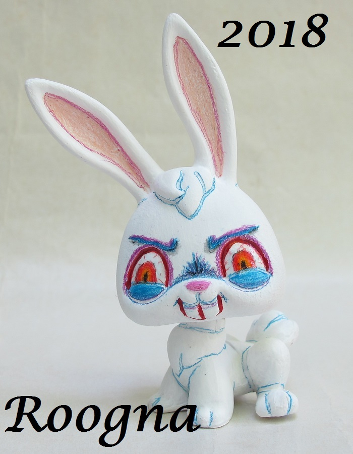 White Rabbit lps by Roogna