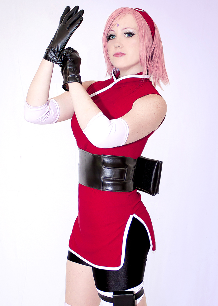 cosplay Sakura the last