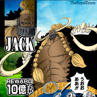 One Piece - Jack The Drought [Recolor] by Huetete