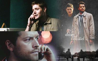 Dean and Castiel by angeinerte