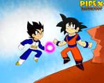 Dragonball Z Goku and Vegeta