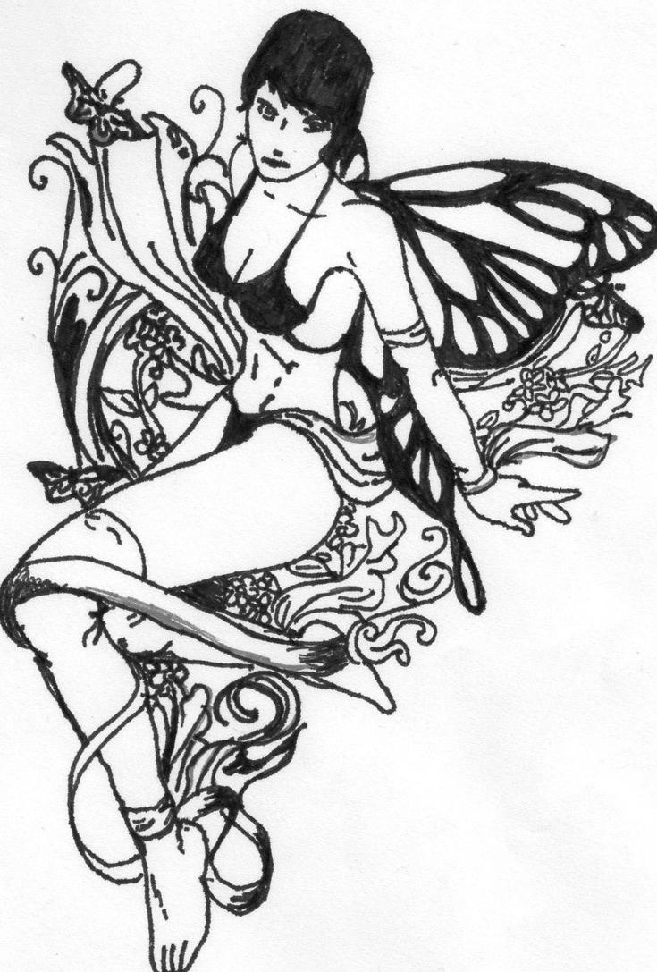 celtic fairy tat by the human abstract91 on deviantart. Black Bedroom Furniture Sets. Home Design Ideas