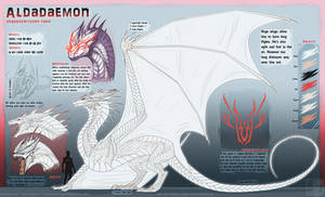 Aldadaemon Dragon Form ref by Trinanigans