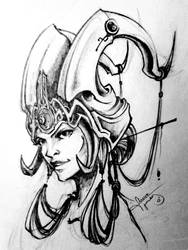 Virtual Princess Sketch