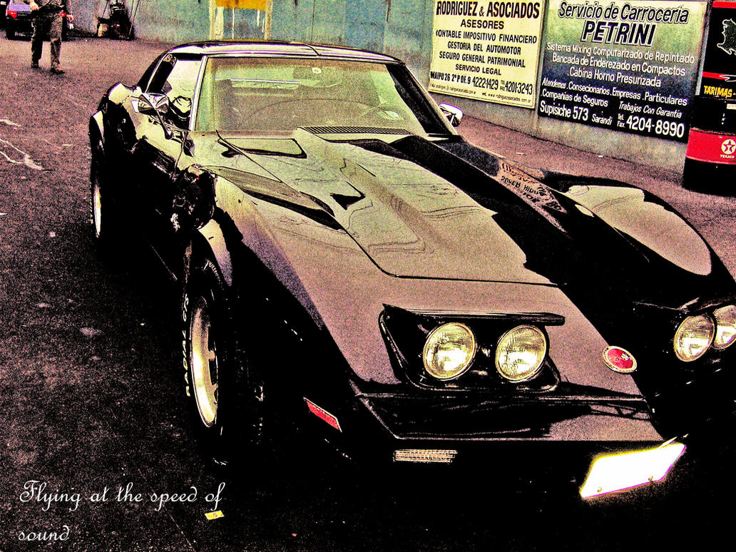 Corvette Stingray 1971 by something-sick