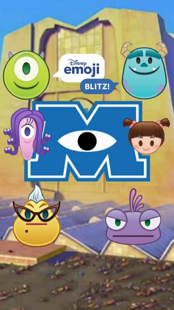 Monsters Inc Emoji wallpaper by Edgestudent21 ...