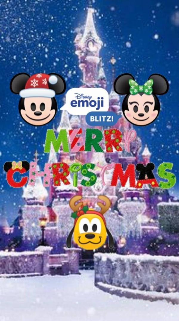 disney christmas emoji wallpaper by edgestudent21 dcwn8uw