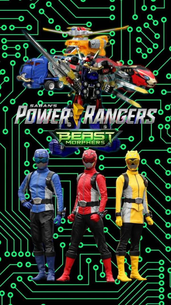 Power Rangers Beast Morphers Wallpaper by Edgestudent21 on DeviantArt