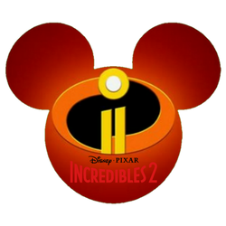 Incredibles 2 Mickey Mouse Head by Edgestudent21
