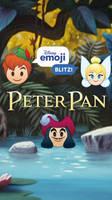 Peter Pan Emoji Wallpaper