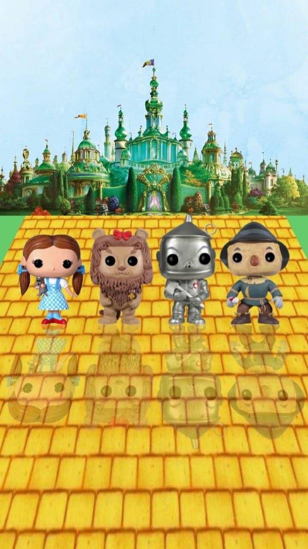 Wizard of Oz Pop! Wallpaper by