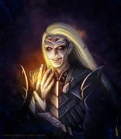 Lotr: Sauron by Soulfein