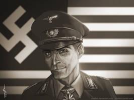 Obergruppenfuhrer John Smith by Soulfein