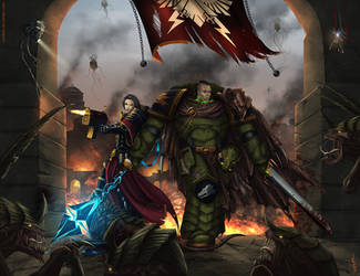 Warhammer: Purge the xenos by Soulfein