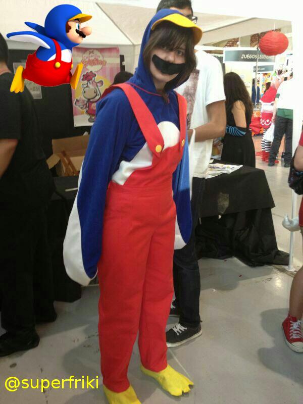Penguin Mario Cosplay by SuperFriki