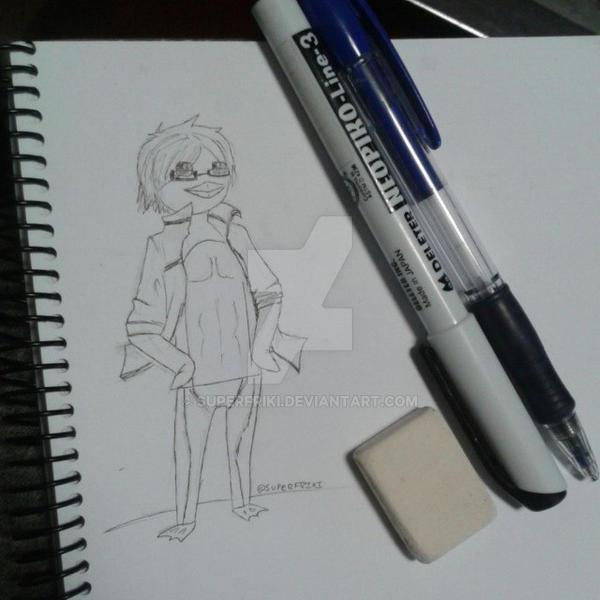 Rei Ryugazaki penguin by SuperFriki