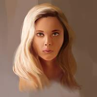 Practice - Scarlett Johansson by Quasaryote