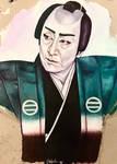 Portrait of Kataoka Nizaemon XV