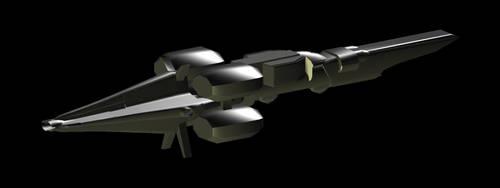 Anurakian battlecruiser 2.0 by Dragonthunders