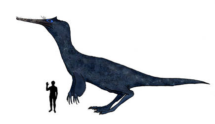 My better fake theropod from water by Dragonthunders