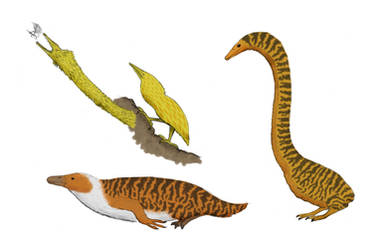 The Redesigned Dinosaurs