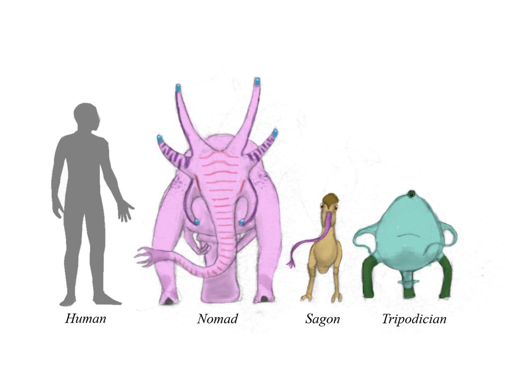 especies sapiens de sagan 4 Sagan_4_sapient_species_by_dragonthunders-db0cfp9