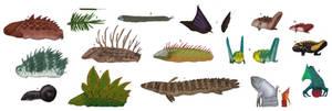 TFIF concept, Slugfish diversity