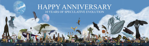 Speculative Evolution Forum, A Decade of Wonders by Dragonthunders
