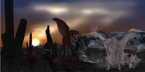 The cold oasis of Yuggoth