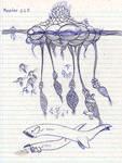 Notebook sketch Kepler 22 B life