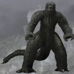Mechagodzilla 2021 but with Godzilla skin