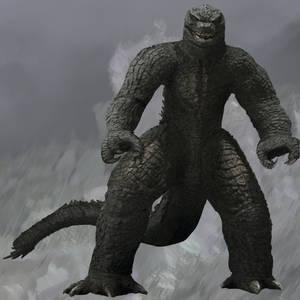 Mechagodzilla 2021 but with Godzilla skin