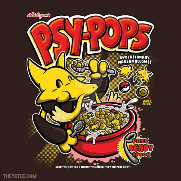 Psy-Pops on TheYetee.com by Italiux