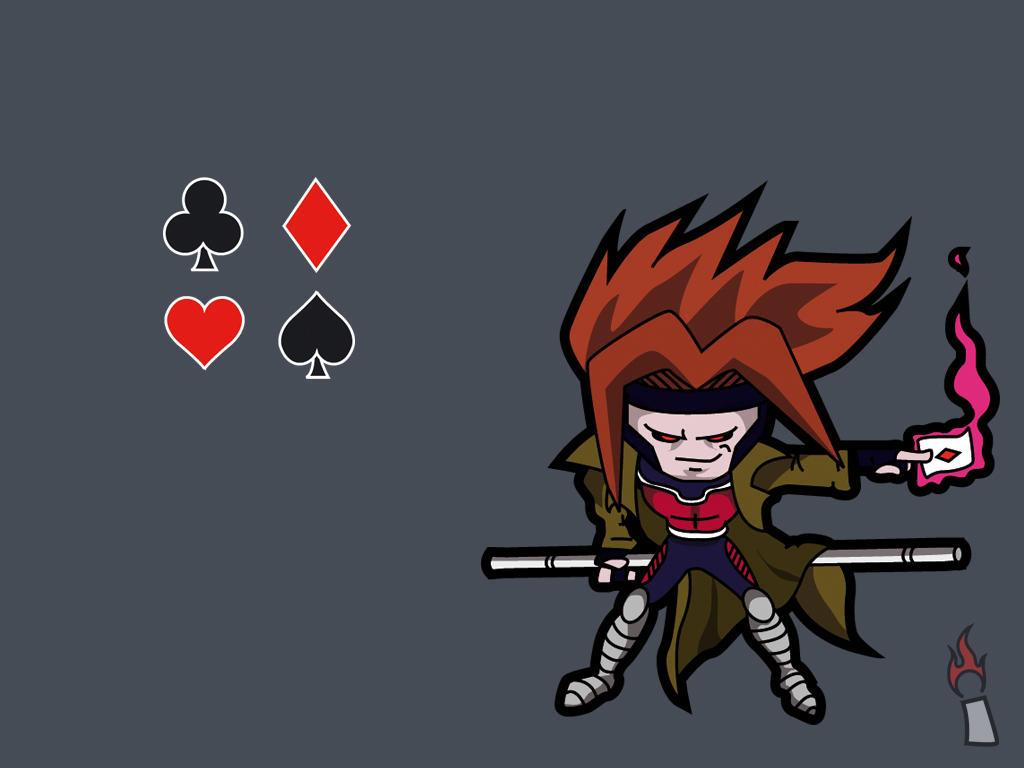 Men Gambit Wallpaper P...