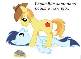 Looks like somepony needs some pie by Kaczyyy