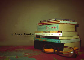 i love books by adrkrist