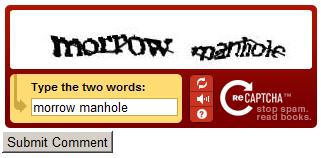 CAPTCHA: Morrow Manhole by Xuxiix
