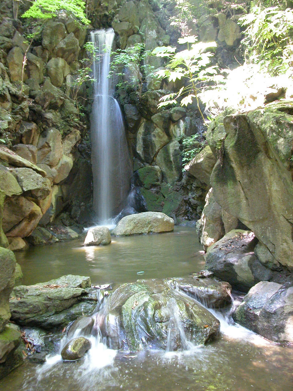 Japanese Waterfall by Herlock Japanese Waterfall by Herlock