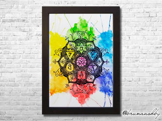 Chakras Rainbow by brunaashby