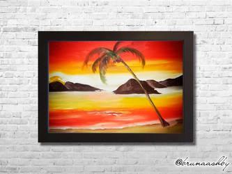 Sunset Beach by brunaashby