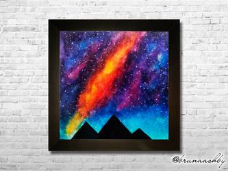 Egyptian Galaxy by brunaashby