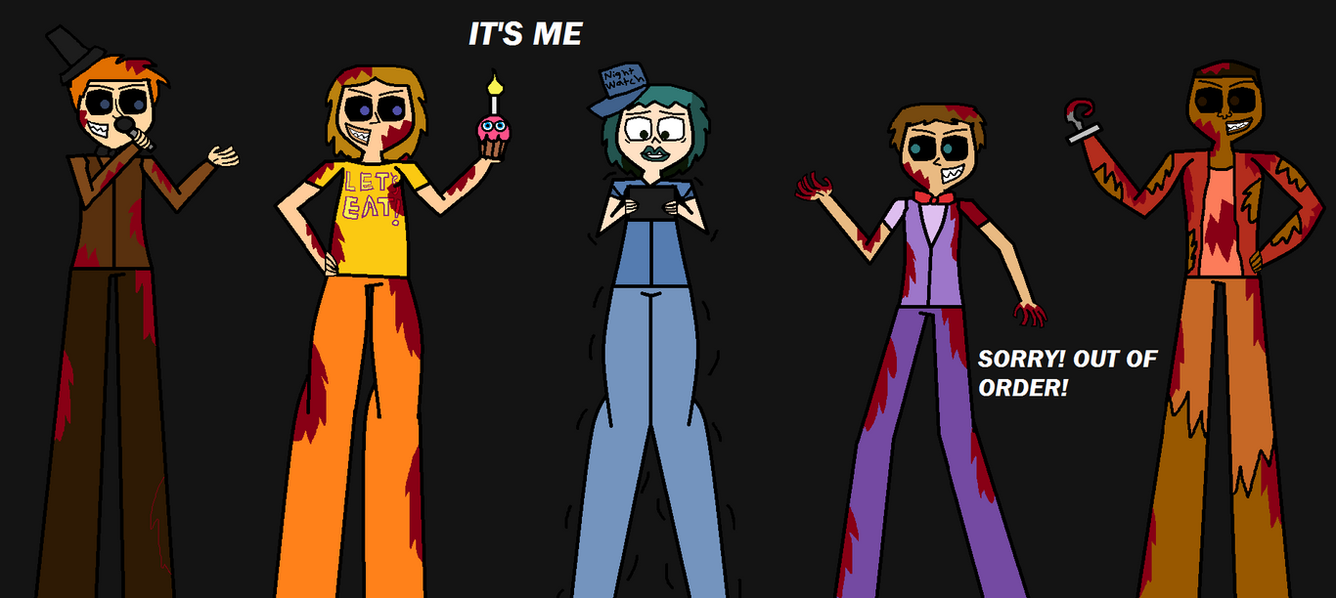 Five Nights At Total Drama by Demonqueen23