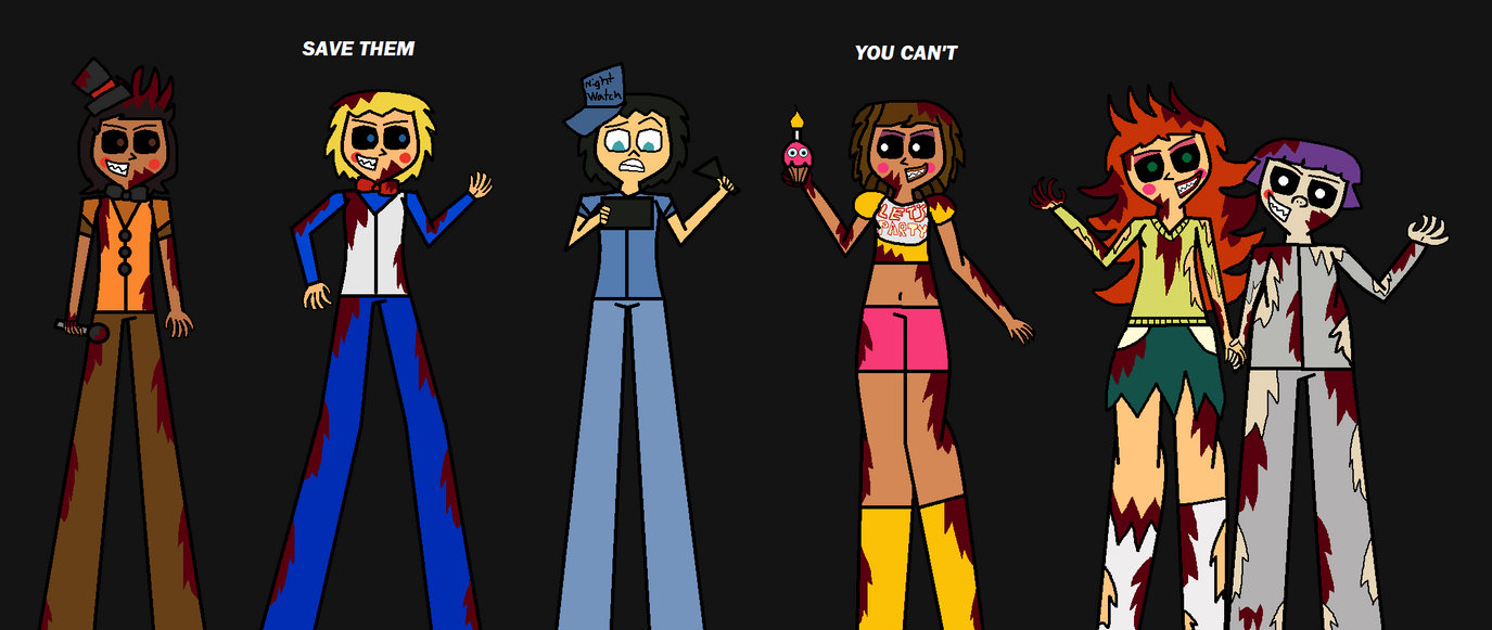 Five Nights At Total Drama 2 by Demonqueen23