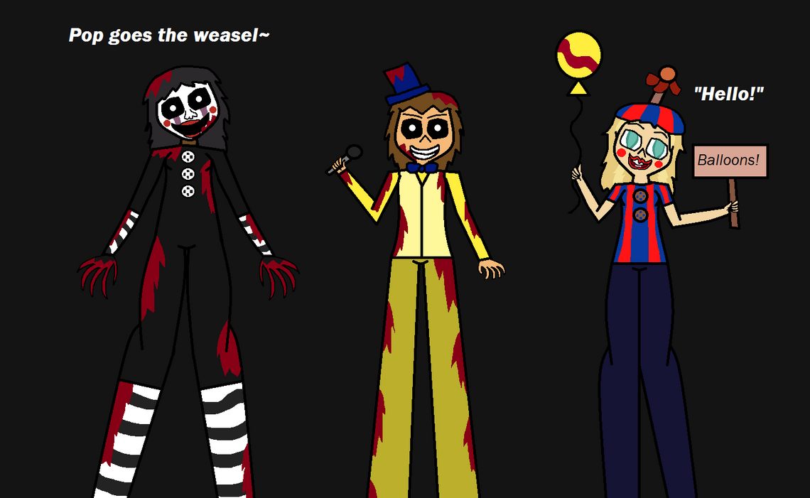 Five Nights At Total Drama Extras by Demonqueen23