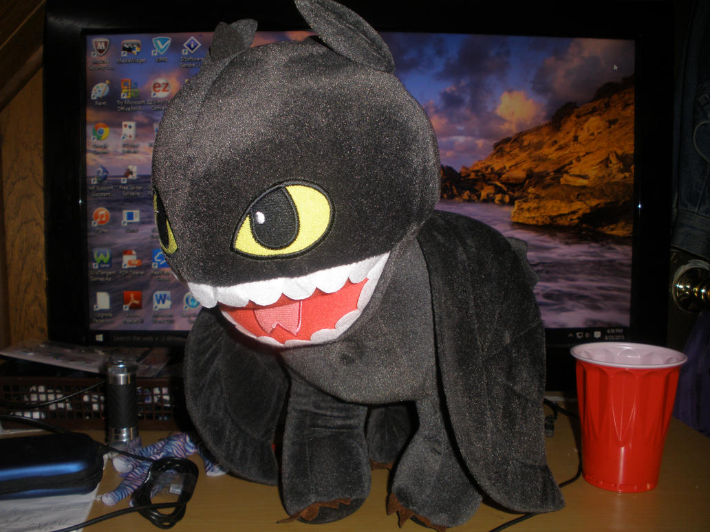 Toothless by Demonqueen23