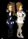 Hilda and Rosa- Adult Trainers